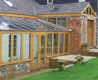 Rustic Style Conservatory And Farmhouse Conservatory Design